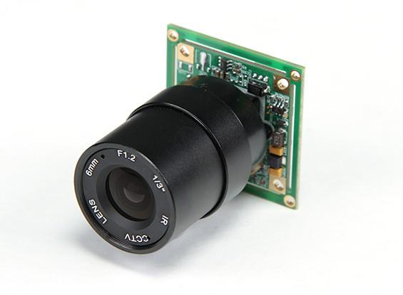 1/3 polegadas Sony CCD Video Camera 700 linhas F1.2 (NTSC)