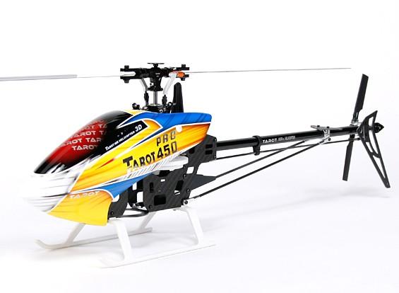 Tarot 450 PRO Kit helicóptero V2 DFC Flybarless (TL20006-preto)