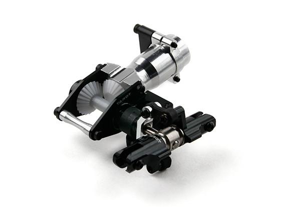 Tarot 450 unidade completa do metal Cauda PRO (Torque Tubo Version) - preto (TL45038-01)