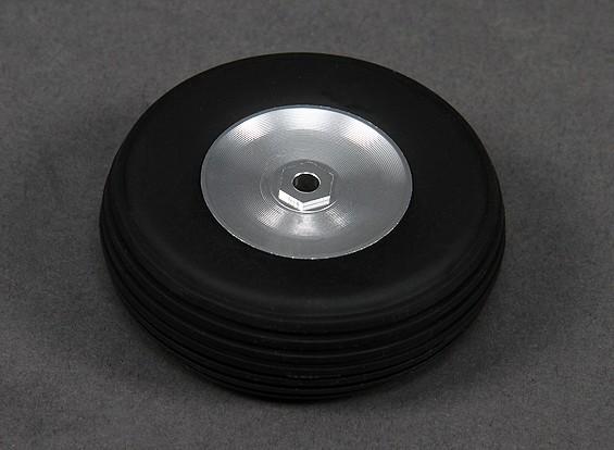 Turnigy 63 milímetros liga de roda / pneu de borracha