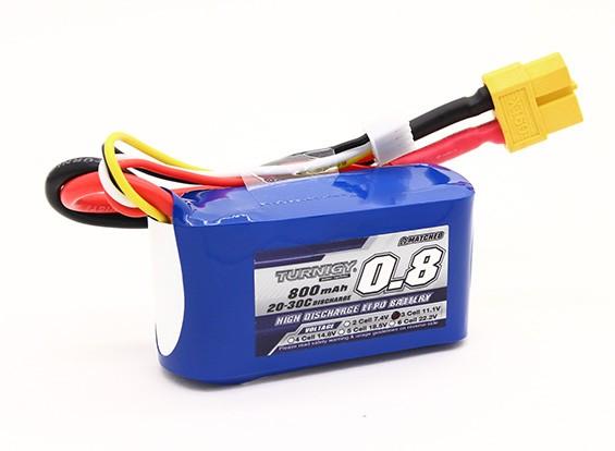 Turnigy 800mAh 3S 20C Lipo pacote
