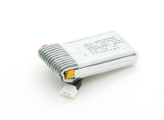 Substituição 380mAh bateria para Aerocraft Mini Quadrotor