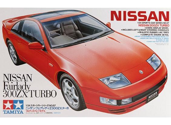 Kit Tamiya 1/24 Escala Nissan 300ZX Turbo Modelo plástico