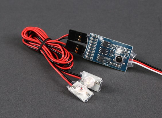 Turnigy Super Bright LED de Baixa Tensão dispositivo de alarme