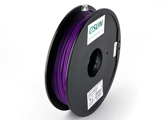 Filament Printer ESUN 3D roxo 1,75 milímetros PLA 0.5KG Spool