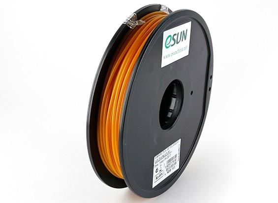 Filament Printer ESUN ouro 3D 3 milímetros PLA 0.5KG Spool