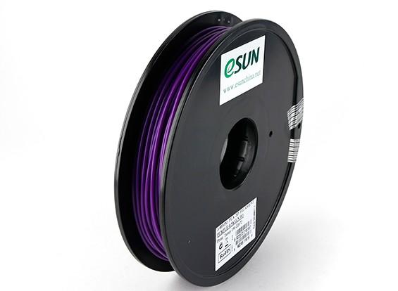 ESUN 3D Filament Printer roxo três milímetros PLA 0.5KG Spool