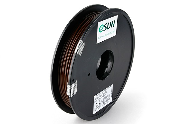 Filament Printer ESUN 3D Brown 3 milímetros PLA 0.5KG Spool