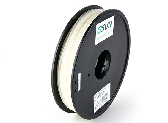 Printer ESUN 3D Filament Natural 1,75 milímetros ABS 0.5KG Spool