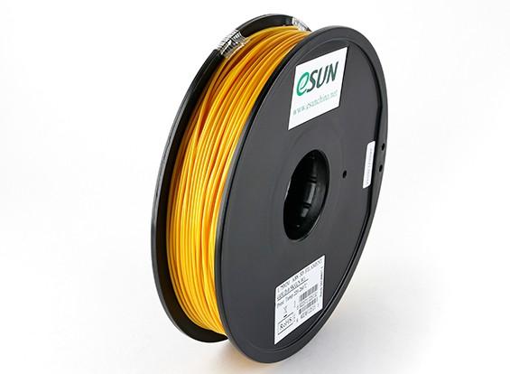 ESUN 3D 1,75 milímetros ouro Filament Printer ABS 0.5KG Spool