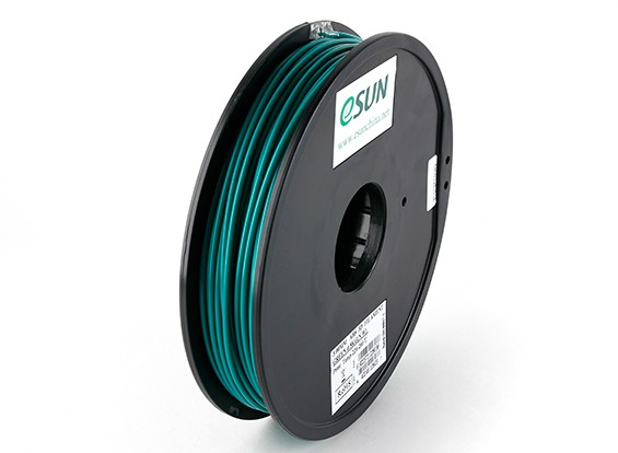 ESUN 3D Filament Printer Verde 3 milímetros ABS 0.5KG Spool