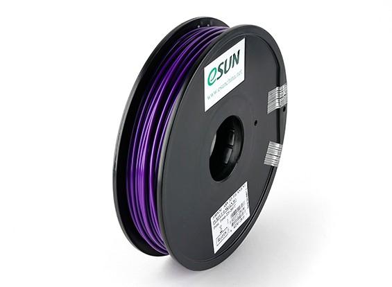 ESUN 3D Filament Printer roxo três milímetros ABS 0.5KG Spool