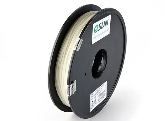 Printer ESUN 3D filamento luminoso verde 1,75 milímetros PLA 0.5KG Spool