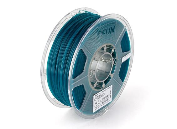 Filament Printer ESUN 3D verde 1,75 milímetros PLA 1KG rolo