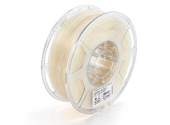 Printer ESUN 3D Filament Natural 1,75 milímetros PLA 1KG rolo