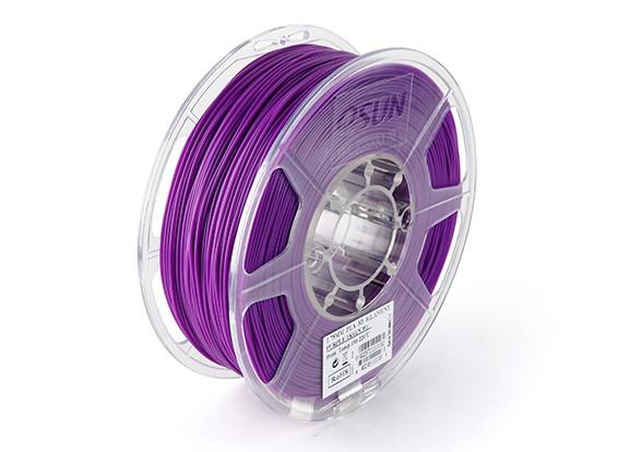 Filament Printer ESUN 3D roxo 1,75 milímetros PLA 1KG rolo