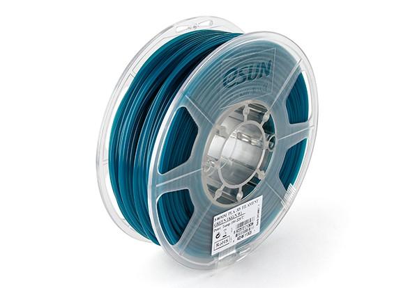 ESUN 3D Filament Printer Verde 3 milímetros PLA 1KG rolo