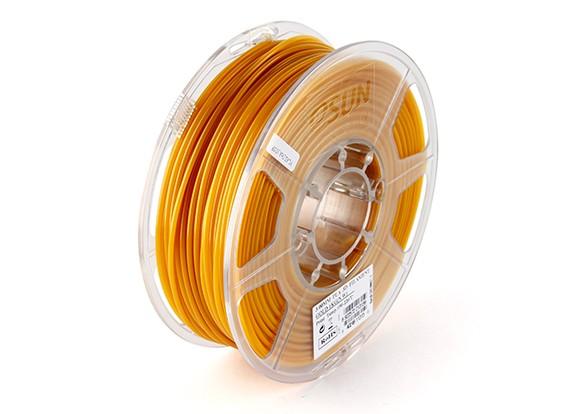 Filament Printer ESUN ouro 3D 3 milímetros PLA 1KG rolo