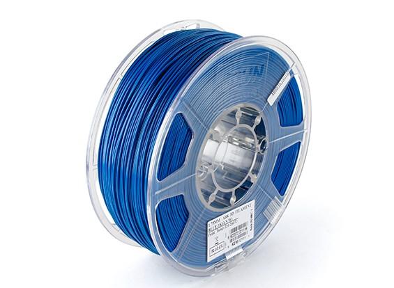 Printer ESUN 3D Filamento azul 1,75 milímetros ABS 1KG rolo