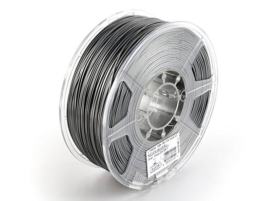 ESUN 3D Filament Printer prata 1,75 milímetros ABS 1KG rolo