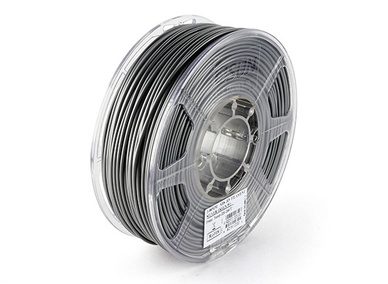 ESUN 3D Filament Printer 3mm prata ABS 1KG rolo