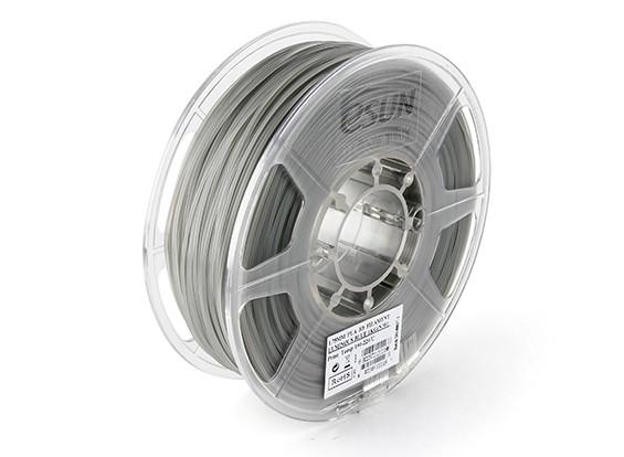 Printer ESUN 3D filamento luminoso azul 1,75 milímetros PLA 1KG rolo