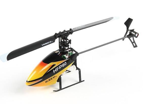 HiSky HFP80 V2 Mini fixado pitch RC Helicopter (B & F)