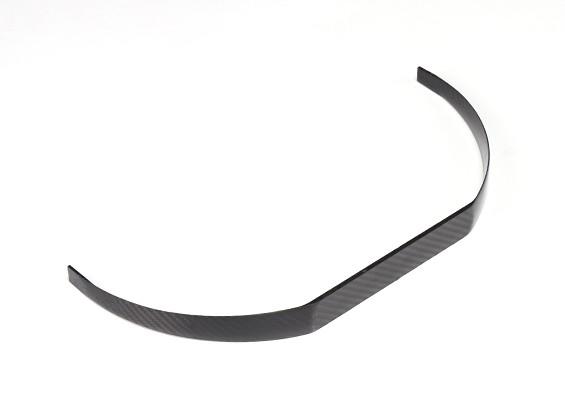 Corrigido Carbon Fiber Landing Gear Para 240 milímetros Fuselagem Largura (1pc)
