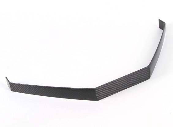 Fibra de Carbono trem de aterragem para extra 260 (120cc)