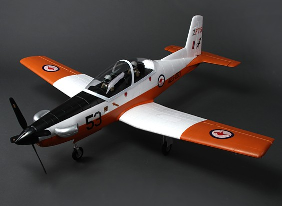 Pilatus PC-9 Warbird instrutor 1200 mm (PNF)