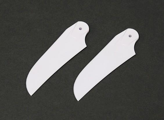 Blades Cauda RJX Branco 85 milímetros de plástico (1 par)
