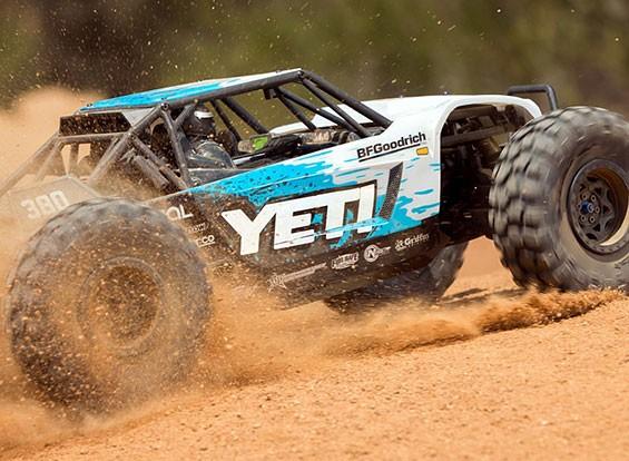 Axial Yeti ™ 1 / 10th escala elétrica 4WD (RTR)