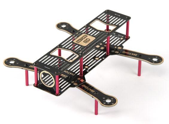 HobbyKing flip 230 Super Light FPV Racer com os braços 3 mm e PDB