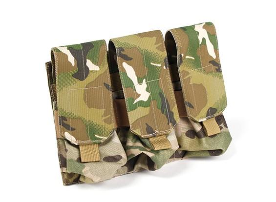 SWAT Molle M4 Triplo Mag Pouch (Multicam)