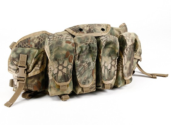 SWAT Cordura AK Frente Peito Bolsas (Kryptek Mandrake)