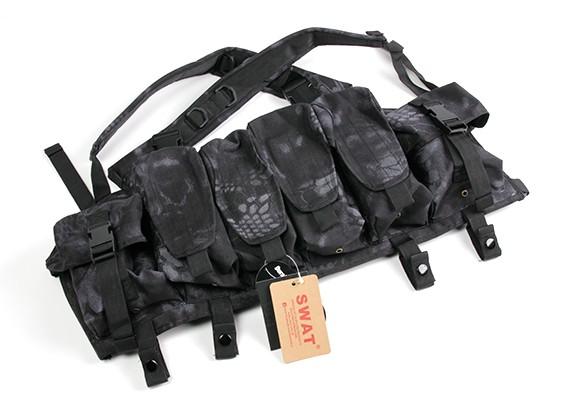 SWAT Cordura AK Frente Peito Bolsas (Kryptek Typhon)