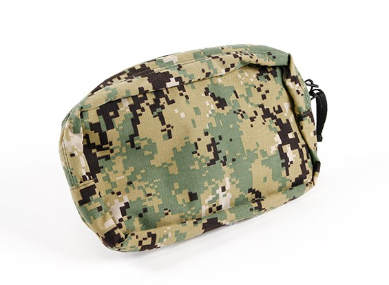 SWAT 500D Nylon multi-finalidades Molle Pouch (AOR2)