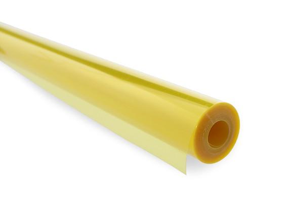 Film cobertura transparente amarelo (5mtr) 203