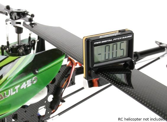 RotorStar Mini Digital de Pitch calibre para helicópteros (Micro ~ 450 tamanho)