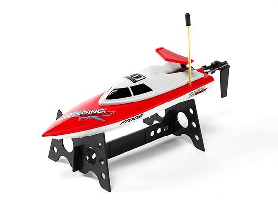 FT008 alta velocidade Mini RC Boat - Vermelho (RTR)