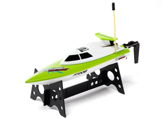 FT008 alta velocidade Mini RC Boat - Green (RTR)
