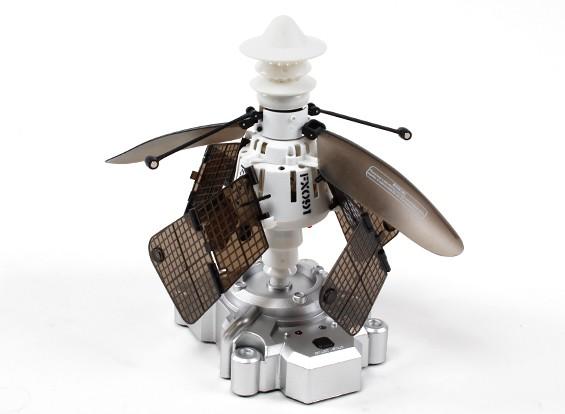 Co-Axial Indução de vôo por satélite