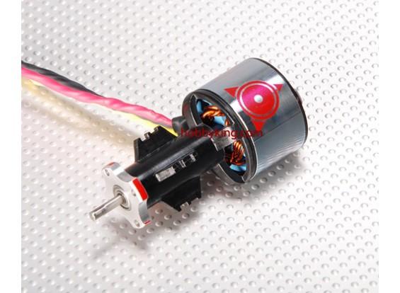 O 4880kv Besta EDF Outrunner de 70 milímetros