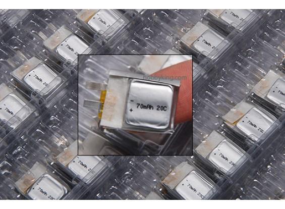 ZIPPY 70mAh 20C Single Cell
