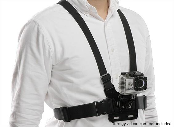 4 Ponto Peito Monte Harness Para GoPro / Turnigy Ação Cam