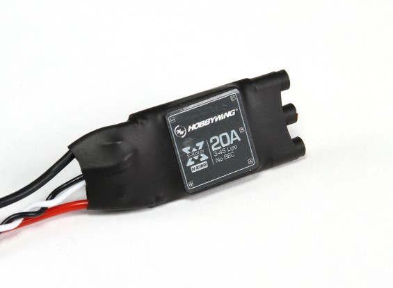 Hobbywing X-Rotor ESC - 20 ampères