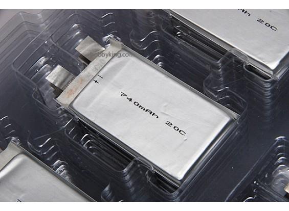 ZIPPY 740mAh 20C Single Cell