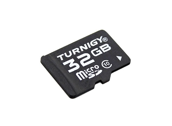 10 Cartão Turnigy 32GB Classe Micro SD de memória (1pc)