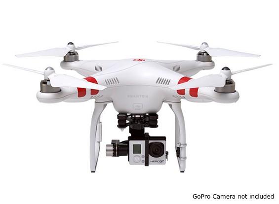 DJI Fantasma 2 Quad Copter e ZENMUSE H3-3D 3 eixos cardan Combo (pronto para voar)