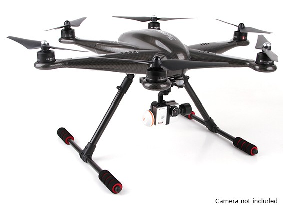 Walkera Tali H500 GPS Hexacopter com 3 eixos cardan e Bateria (PNF)
